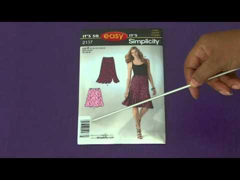 Understanding Your Sewing Pattern Envelope