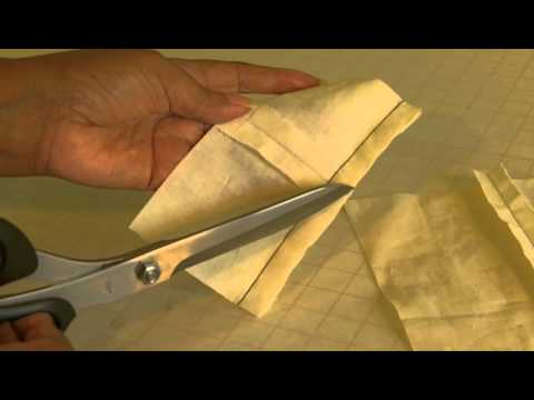 How To Trim and Grade Your Seams