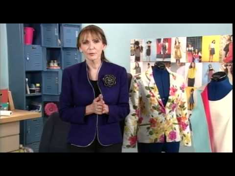 Peggy Sagers Demonstrates Jacket Construction