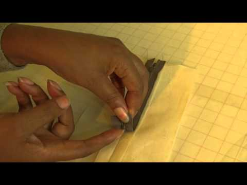 How to Sew a Centered Zipper