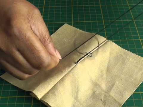 Making Belt Thread Loops