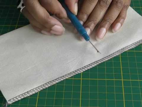 Sergers - Rejoining a Stitched Seam