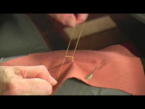 How to Sew a Thread Chain