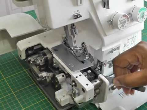 Threading a Serger - by Fashion Sewing TV