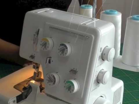 Changing Threads on a Serger