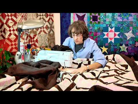Sponsored Video: Quilting BIG Projects on a Small Machine with Ann Petersen