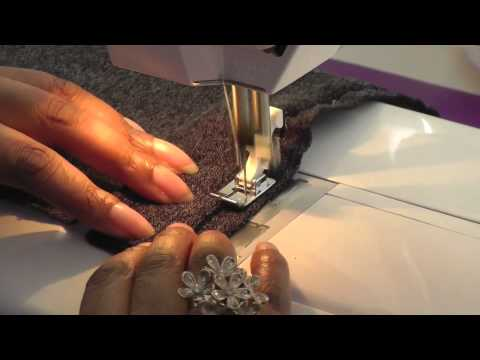 Sewing with a Blind Hemming Foot - A Tutorial by Fashion Sewing TV
