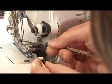 Serger Sewing: How To Thread Your Serger For 4 Thread Overlock