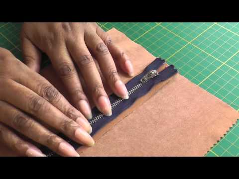 How to Sew an Exposed Zipper