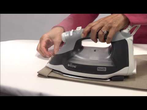 The Oliso Smart Iron with iTouch™