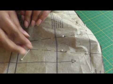 How to Pin Mark Sewing Patterns