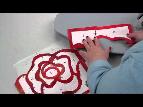How to Machine Appliqué in a New Way: Fast-Piece Appliqué