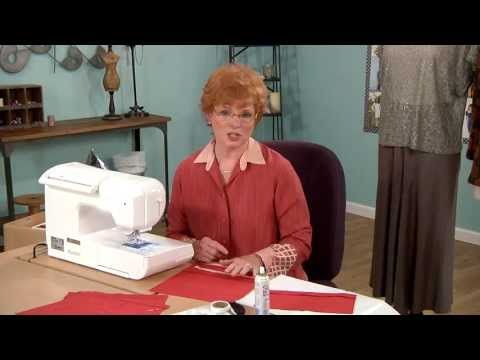Sewing Expert Linda Lee's Lesson on Sewing with Knits + Pucker-free Hems on It's Sew Easy