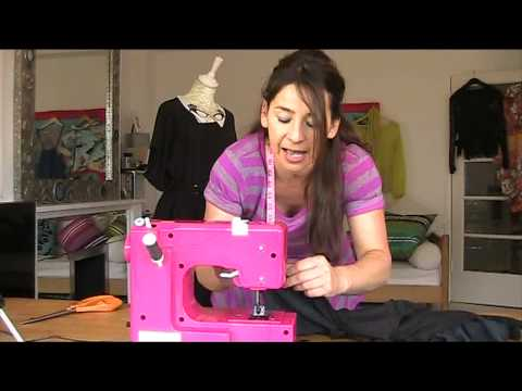 How to Sew an Asymmetric T-shirt From Two Existing Tops