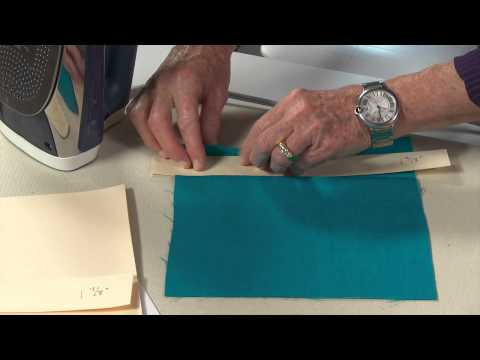 How To Sew Perfect Hems Using Tagboard Templates with Instructor Linda Lee