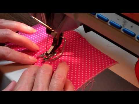 How to Top Stitch a Seam
