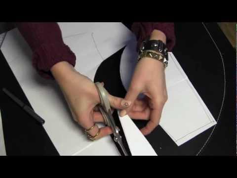 How to Sew a Peplum Shirt: Part 1 & 2 - Pattern Making