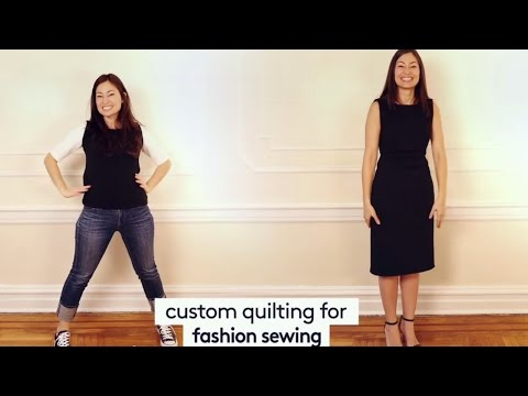 Fashion Sewing & You: Custom Quilting for Fashion Sewing