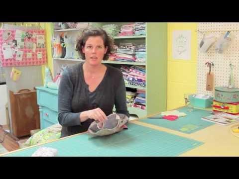 DIY Holiday Dinner Roll Holder - Virginia Lindsay's Free Sewing Tutorial