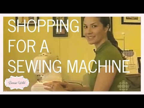 Tips For Shopping For A Sewing Machine (Steven And Chris)