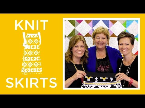Knit Skirts with Simple Simon: Easy Sewing Tutorial with Jenny Doan of Missouri Star Quilt Co