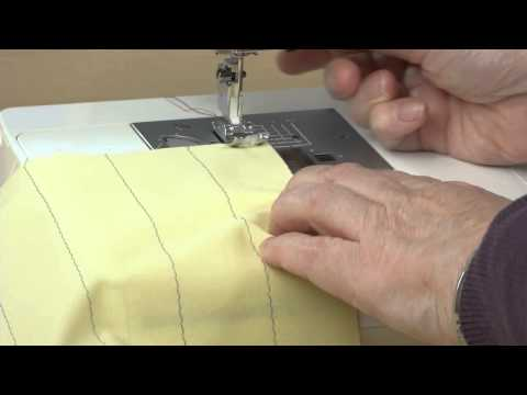 How to Sew and Press Tucks