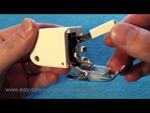 What is a Walking Foot - Sewing Tips for Beginners