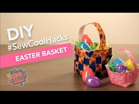 SewCool's - DIY Easter Basket