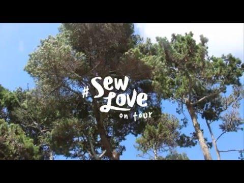 Sew Love on Tour!  Camper Van Turned Mobile Sewing School!