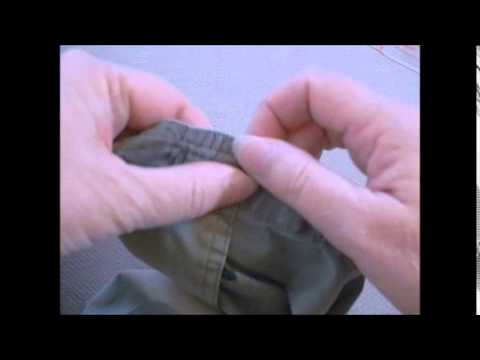 How to Shorten Shirt Sleeves - A Free Video Tutorial