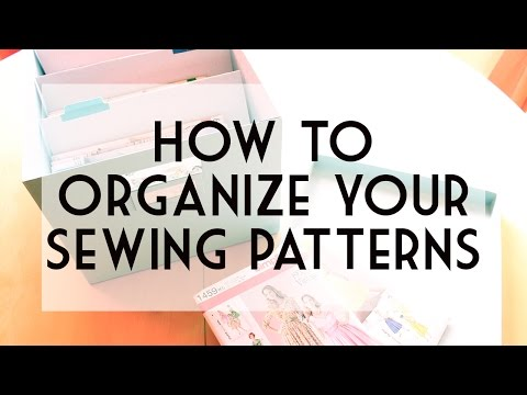 How to Store and Digitally Organize Your Sewing Patterns | Vintage on Tap