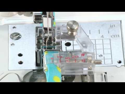 Sewing Machine Bias + Quilt Binding Foot