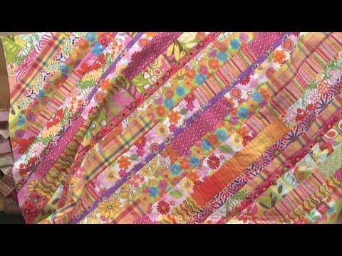Quilt as You Go -- Strip Quilt  |  National Quilters Circle