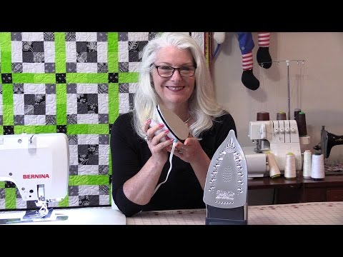 Travel Irons in the Sewing Room + Sew a Travel Iron Mat