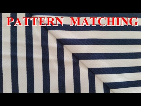 How to Pattern Match Fabric Seams