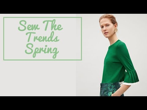 Sewing Fashion Trends for Spring with The Fold Line