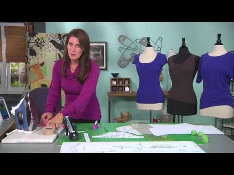 Sew a perfect t-shirt on It's Sew Easy with Angel Wolf