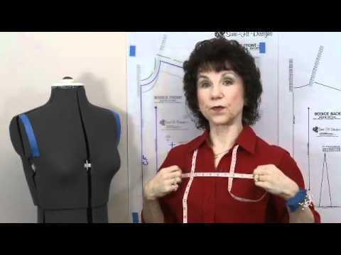 How to Modify-Scoop the Armscye Curve - Sure-Fit Designs Dress/Shirt patterns