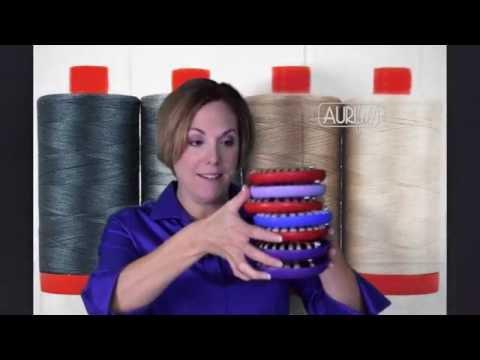 Aurifil Thread - How Many Bobbins Does One Spool Fill?