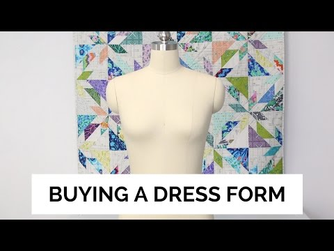 Professional Dress Form: Unboxing & Review | SEWING REPORT