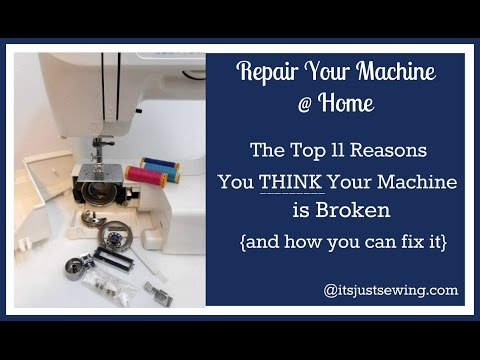 Top Trouble Shooting Tips For Your Sewing Machine