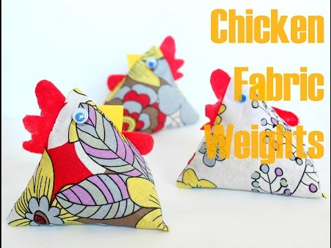 Sew Funky Chickens | Free Sewing Tutorials for Unique Pincushions, Pattern Weights, Phone Stands, Bean Bags, Door Stops