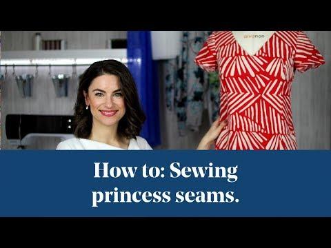How To: Sewing Princess Seams