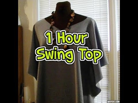 Learn to Sew a One-Hour Circle Swing Top