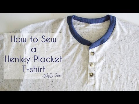 How to Sew a Henley Placket