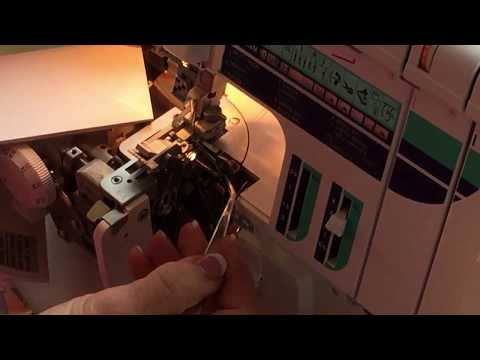 Londa explains serger threading