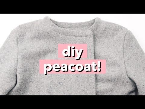 DIY Peacoat / Wool Pea Coat | WITHWENDY