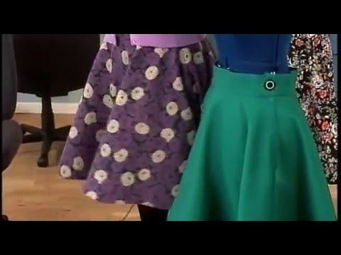 How To Sew a Vintage-style Skirt on It's Sew Easy with Gretchen Hirsch