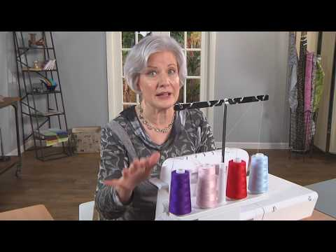 Master Serger Threading with Londa's Three Hints - It's Sew Easy Series 1500
