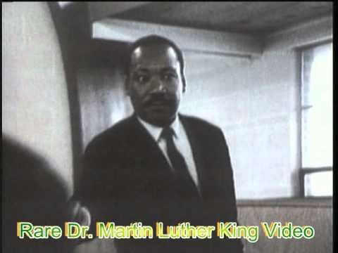Rare Dr. Martin Luther King video